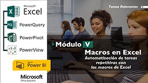 Curso Virtual Macros en Excel