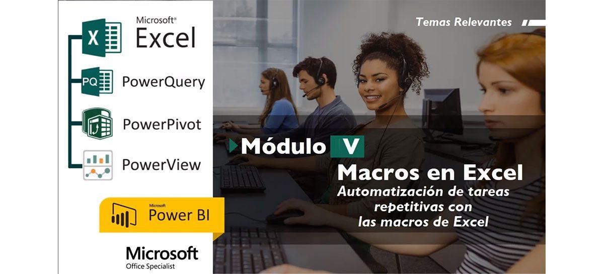 Curso de Excel – Macros en Excel con VBA